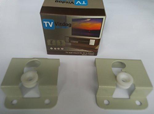 42' Plasma Nec (TV Wall Mount Brackets For Samsung Sony Vizio LG Panasonic TCL Sharp Sanyo Toshiba. Size 32-65inch VESA 200x200 to 600x400 Compatible Premium Tilt 220 Lbs Capacity.)