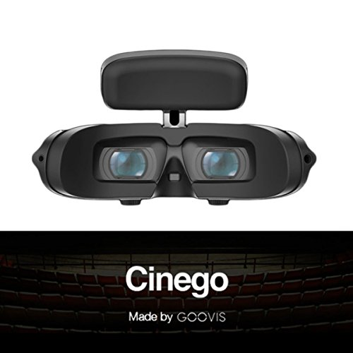 GOOVIS G2 Virtual Reality Travel 3D Theater VR Glasses 4K Travel Cinema Micro Sony M-OLED Screens 1920 x 1080 Displays for Xbox One PS4 Nintendo Switch (Ps4 Remote Play Windows 7 32 Bit)
