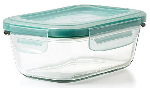 OXO Good Grips 1.6 Cup Smart Seal Leakproof Glass Rectangle Food Storage - Canada Smart Glasses