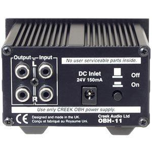 Creek OBH-11 Headphone Amplifier (Black)