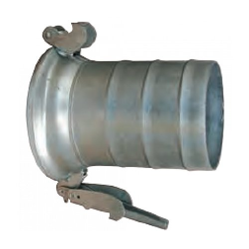JGB Enterprises 102-FC21210I Galvanized Female Bauer Type Coupling, Galvanized Steel, 10''