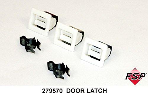 Whirlpool 279570 Dryer Door Latch Kit (International Door Latch)