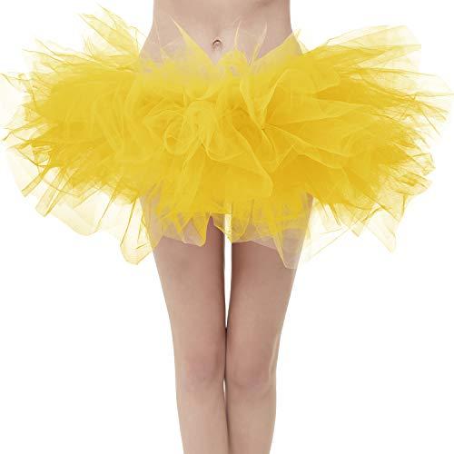 Topdress Layered Tulle Tutu Skirts Golden Regular Sizing -