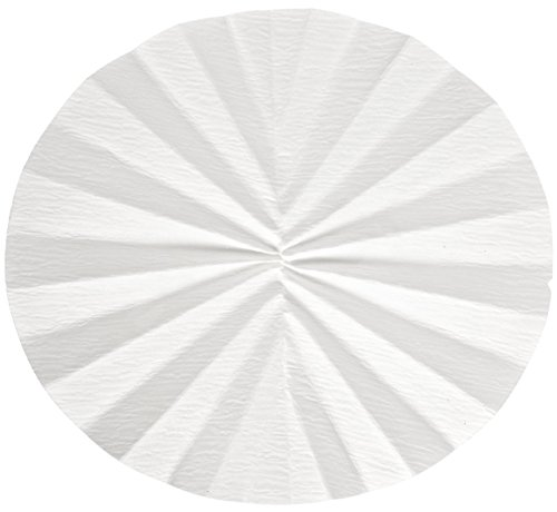 Whatman 10331556 Quantitative Folded Filter Paper, 15-19 Micron, Grade 520B-1/2, 500mm Diameter (Pack of 50) by Whatman