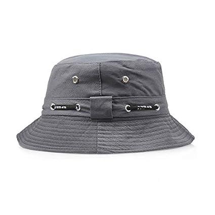 2d71860942f Amazon.com  FelixStore Summer Plain Bucket Hats Men Women Classic Caps  Autumn Spring Fisherman Cotton Double Layer Fabric Sunscreen Hats  Kitchen    Dining