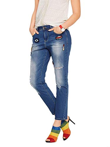 Bleu Bleu Pierre Femme Connections Jeans Heine Stone Best Blaublue wIU0UTpq