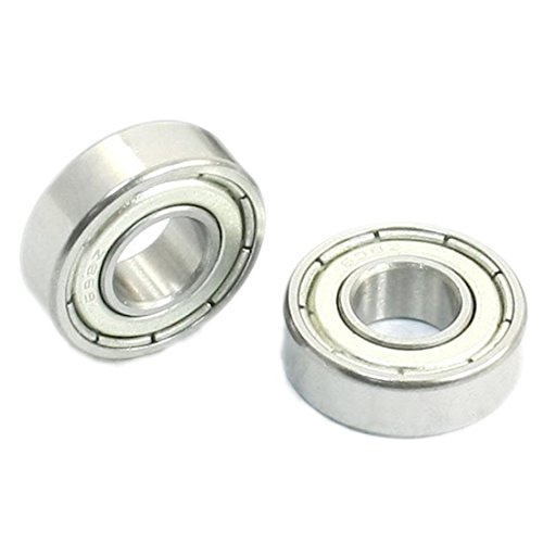 Baomain ball bearing 698Z 8mm x 19mm x 6mm Sealed Deep Groove Radial 10 - Ball 6mm Bearings Sealed