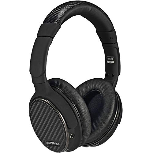 Bluetooth Headphones Over Ear, Apt-x Stereo Wireless