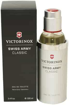 Victorinox Swiss Army Eau de Toilette Spray for Men, 3.4 Ounce