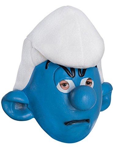 Rubie's Men's Adult Masks, Grouchy, Smurfs: the Lost Village (Halloween Smurfs)
