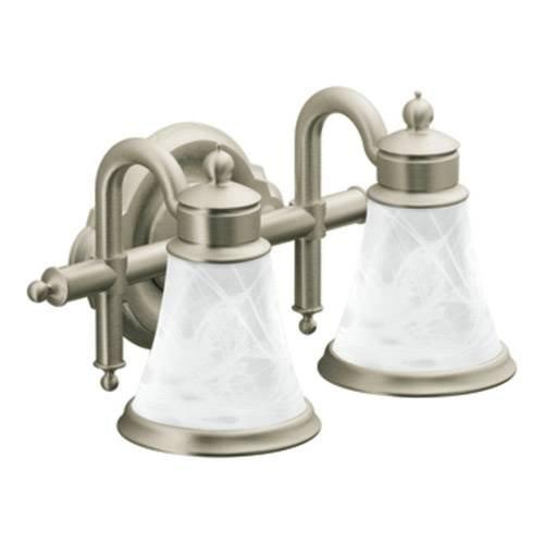 moen yb9862ch waterhill two globe bath light chrome vanity lighting fixtures amazoncom