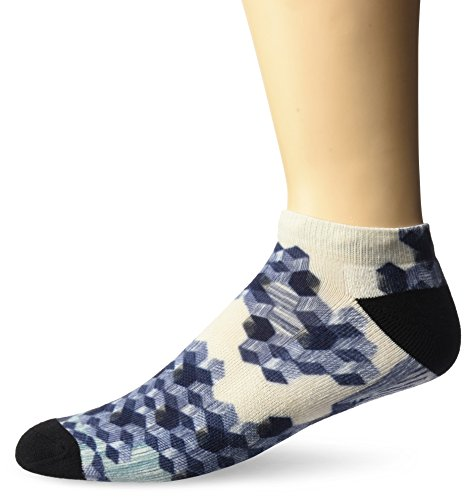 Sole Options Men's Block Party, Rawhide, Sock Size:10-13/Shoe Size: (Rawhide Stocking)