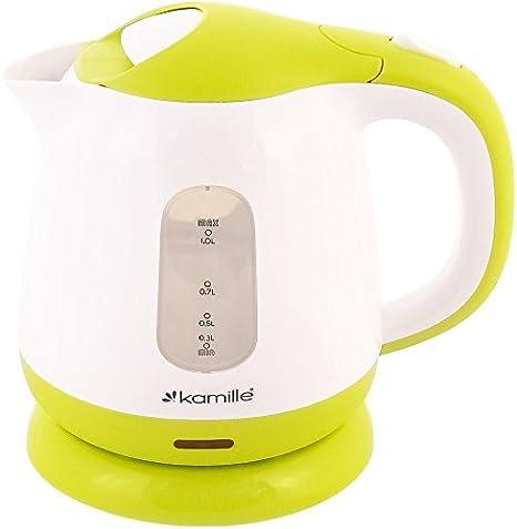 1.0L Cordless Plastic Tea Kettle