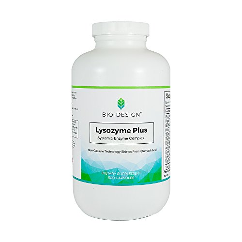BIODESIGN, LYSOZYME PLUS 500 TABS by Biodesign