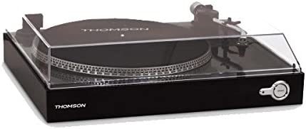 Thomson TT200 - Giradiscos, Color Negro: Amazon.es: Electrónica