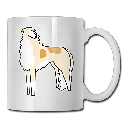 FOOOKL Borzoi 11oz Tea Cup Coffee Mug