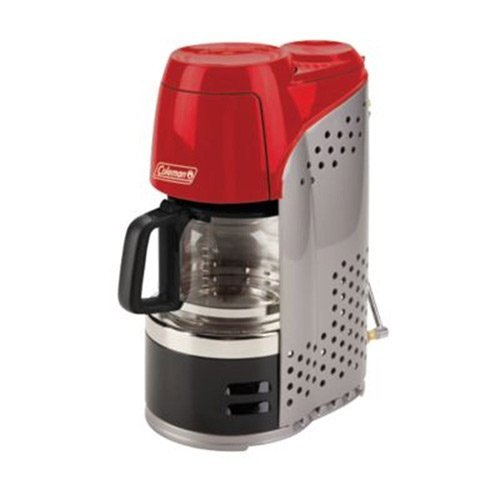 Coleman Portable Instastart Coffee Maker with Carafe and Bag