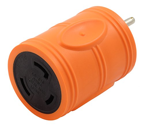 AC WORKS Shore Power Adapters (15Amp Household to 30A Locking)