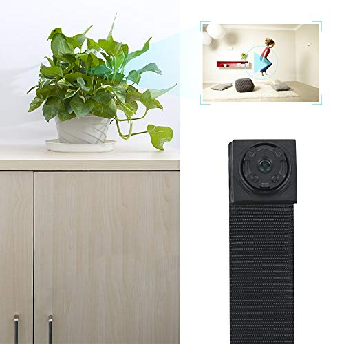 Hidden Button Camera - Covert Video Camera with with Photo Taking Function, 13 Hours Long Operating Battery Life Time, 8GB Memory Card Built in