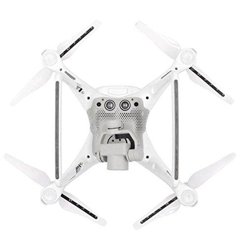 2 Pairs LED Light Flash Propeller USB Charging For DJI Phantom 4 Pro Pro+ Drone by Dreamyth