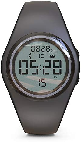 synwee Sports Digital Pedometer Watch Fitness Tracker,IP68 Water Resistant, with Pedometer/Vibration Alarm Clock/Timer, for Kids Children Women Teens Boys Girls 1