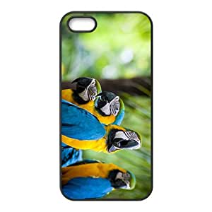 Parrots Hight Quality Plastic Case for Iphone 5s