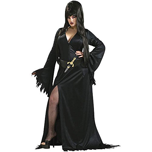 Elvira Plus Size Costume - Queen Size