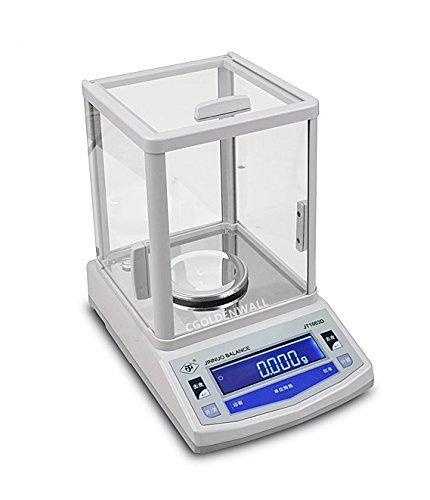 CGOLDENWALL JTD 200g//0.001g Lab Analytical Balance Analytical Laboratory Scale Electric Digital Display Balance with High Precision 110V-240V