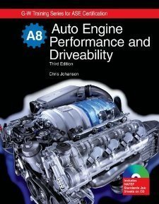 Auto Engine Performance and Driveability: Textbook w/ Job Sheets CD [Hardcover] [2009] (Author) Chris Johanson PDF