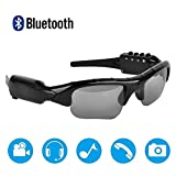 Bluetooth Sunglasses Camera,Camera Glasses Full HD 1080P with Wide Angle Mini Video Camera