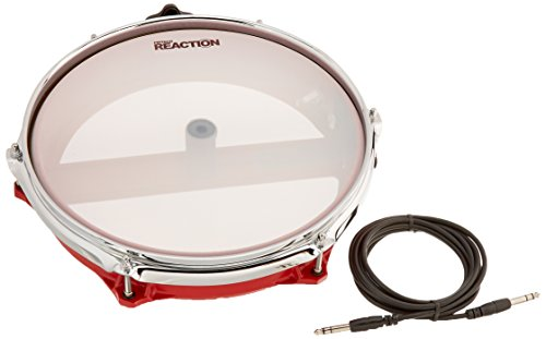 Pintech Percussion CC122R Red Concert Cast Drum Pad 12'' Dual Zone by Pintech Percussion