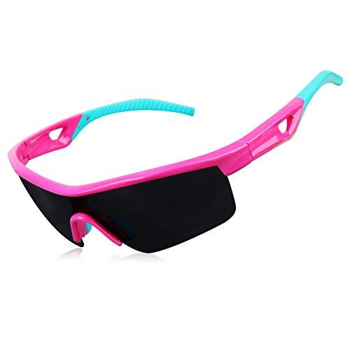 Sunglasses for Kids, GARDOM Polarized Sunglasses for Boys Girls Cycling Fishing - Glasses Cycling Kids