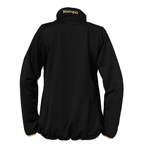 Balonmano Ou Kempa Noir Jacke Schwarz Camiseta Gold Classique De wXH8BxX