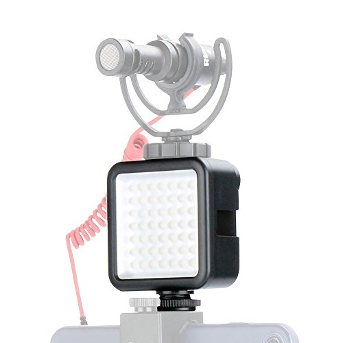 LED Video Light Camera Lighting - Ulanzi Dimmable Portable 49 LED Ultra Bright Panel Video Lighting LED Lights Camera Light for Canon Nikon Pentax Panasonic Sony Digital Dslr Cameras and iPhone etc.