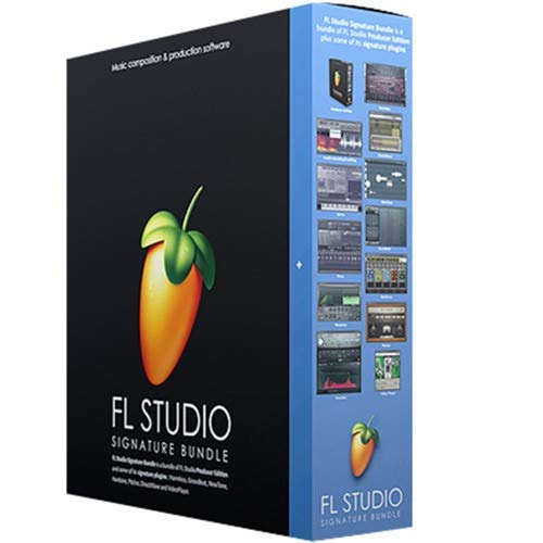Image Line FL Studio 20 Signature Bundle (Boxed) (Fruit Loops 11)