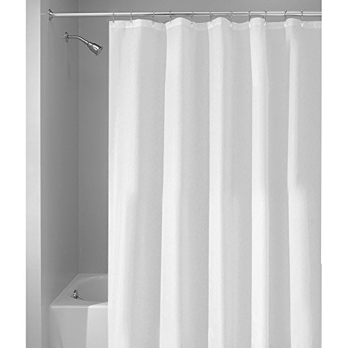 InterDesign Waterproof Mildew Resistant Fabric Curtain product image