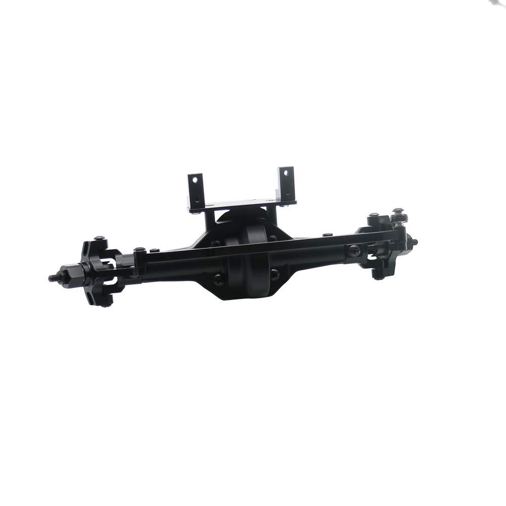 a precios asequibles negro RCAWD Caja de de de Engranajes Delantera (con Engranajes de Teel) Ensamblaje Aleación de Aluminio 180210 para 1 10 HSP Rock Crawler 94180 RGT 18000 Himoto rojocat(Titanio) Front Gear Box(with teel gears)  muchas sorpresas