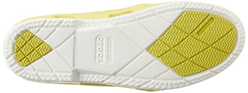 Chartreuse W Shoe Beach Boat White Mix Line Crocs Donna BHwUqza