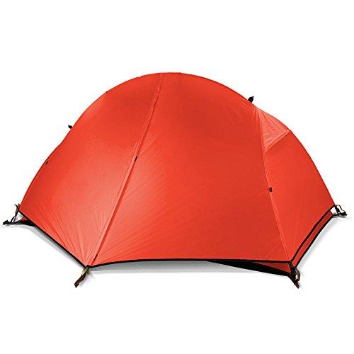 デッドロックの配列キャンディーQFFL zhangpeng テントダブルキャンプレジャーテント屋外キャンプテント3色オプション トンネルテント (色 : 青)