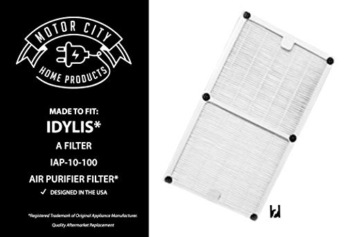 Motor City Home Products Idylis A Style Compatible HEPA Air Purifier Filter Brand Replacement (1)