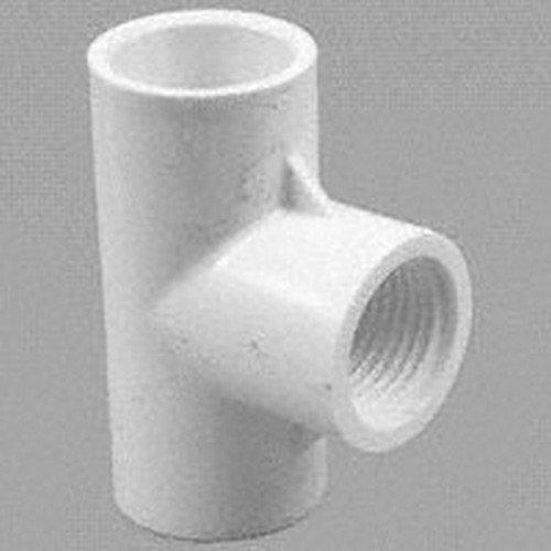 Genova 31480 Solvent Weld Pipe Reducing Tee Pack of 12