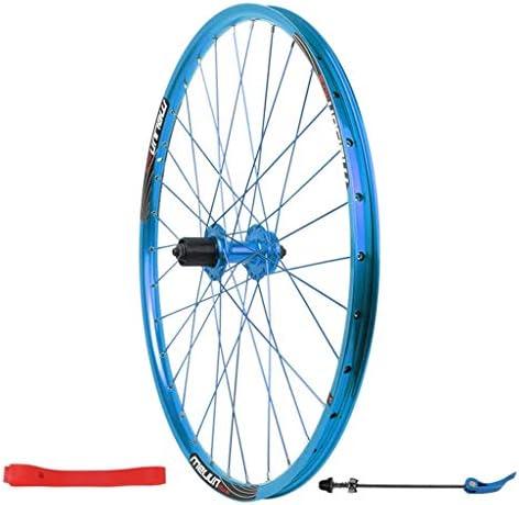"""MTB 自転車後輪26"""" マウンテンバイク用 ダブルウォールリム ディスクブレーキ カードハブ 7-11速度 QR 32H"""