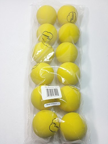 SKY BOUNCE Yellow Handball Set Of 12 (1 Dozen)