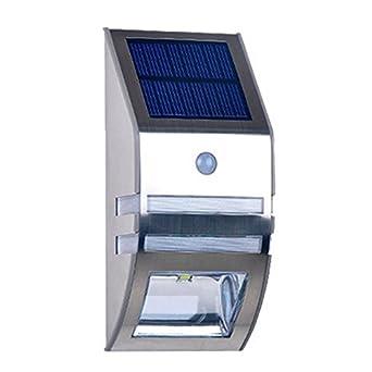 Lampe Solaire LED Avec Détecteur Automatique De Mouvements Numérique - Eclairage exterieur detecteur automatique