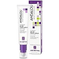 Andalou Naturals DIY Booster SPF 30 Facial Serum Unscented, 2 Ounce