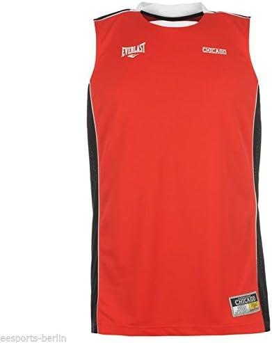 Everlast Camiseta de baloncesto Camiseta Hombre Baloncesto Tank Top Hombres S – XXL, color Rojo - Rot / Schwarz (Chicago), tamaño S: Amazon.es: Deportes y aire libre