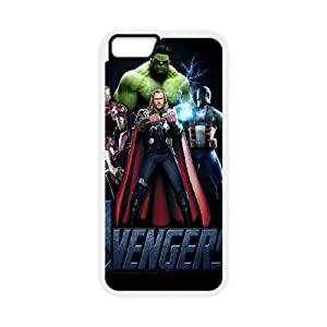 Iron Man iPhone 6 Plus 5.5 Inch Cell Phone Case White J1737542