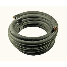 Crimp Supply Ultra-Flexible Car Battery/Welding Cable - 350 MCM, Black - 50 Feet