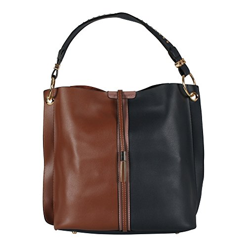 Tom & Eva donna borsa a tracolla Multicolor 17E-1865 navy