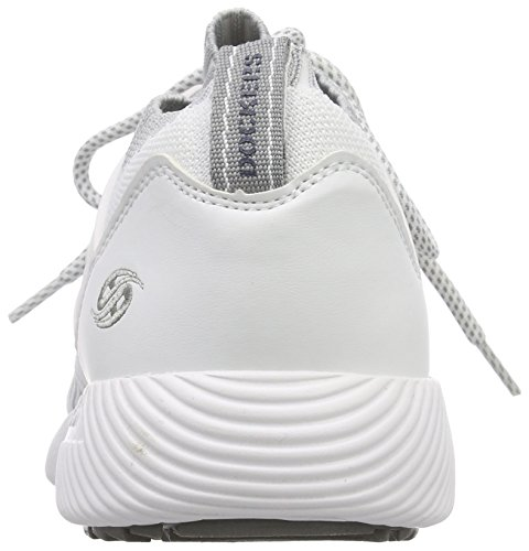 Basses Weiss Blanc Dockers 42li009 by Sneakers 500 Gerli 700500 Homme 8xgxq